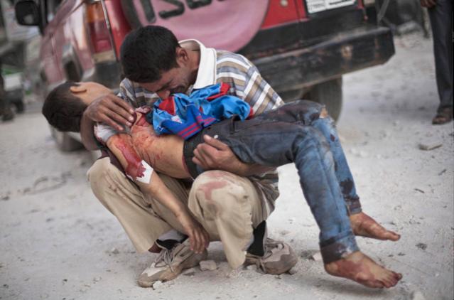 siria padre hijo