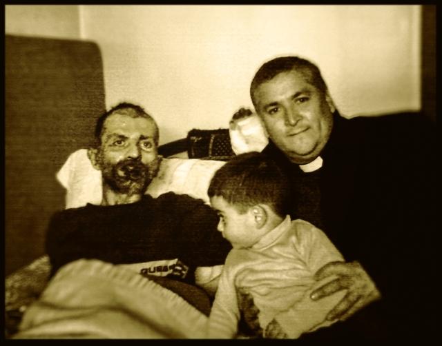 Sarkis and Fr. David Fernandez, IVE