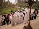 Way of the Cross procession in Syria
